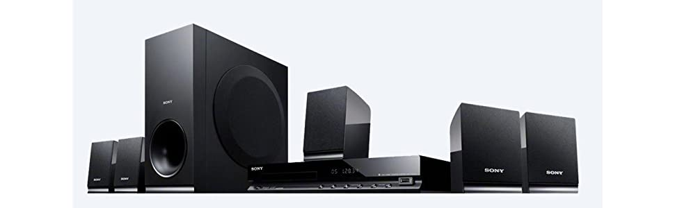 Sony, DAV-TZ140, DVD home cinema system, 5.1 channel surround system, usb connection