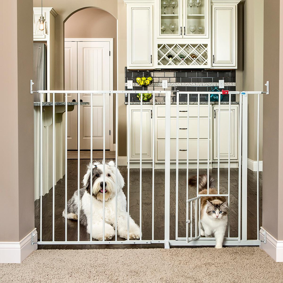 Carlson Maxi Extra Tall 96cm And Extra Wide 150cm Gate