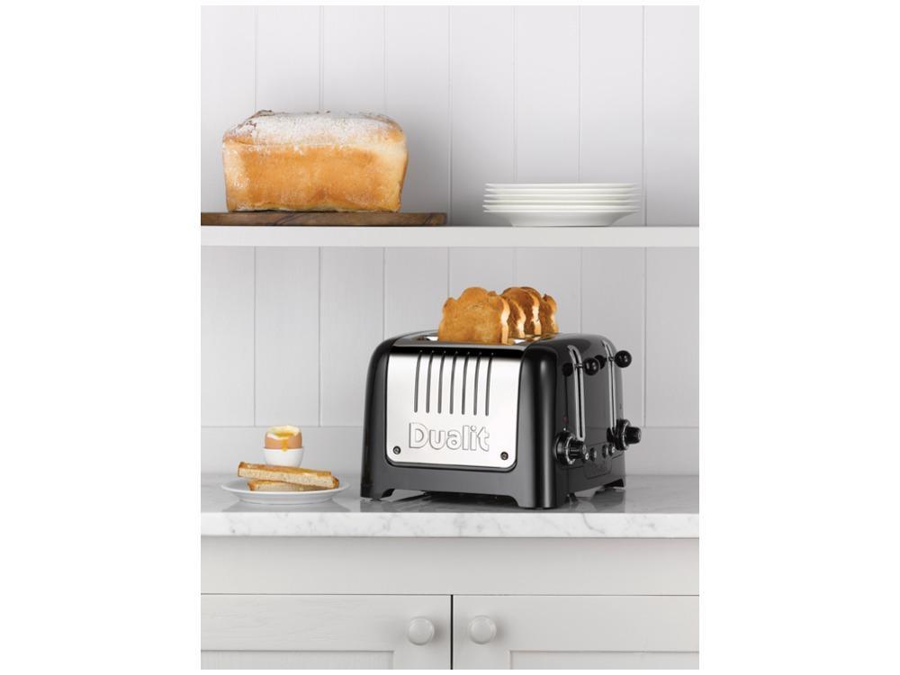 Dualit Lite Stoneware Granite Finish Lite Range 4-Slot Toaster ...
