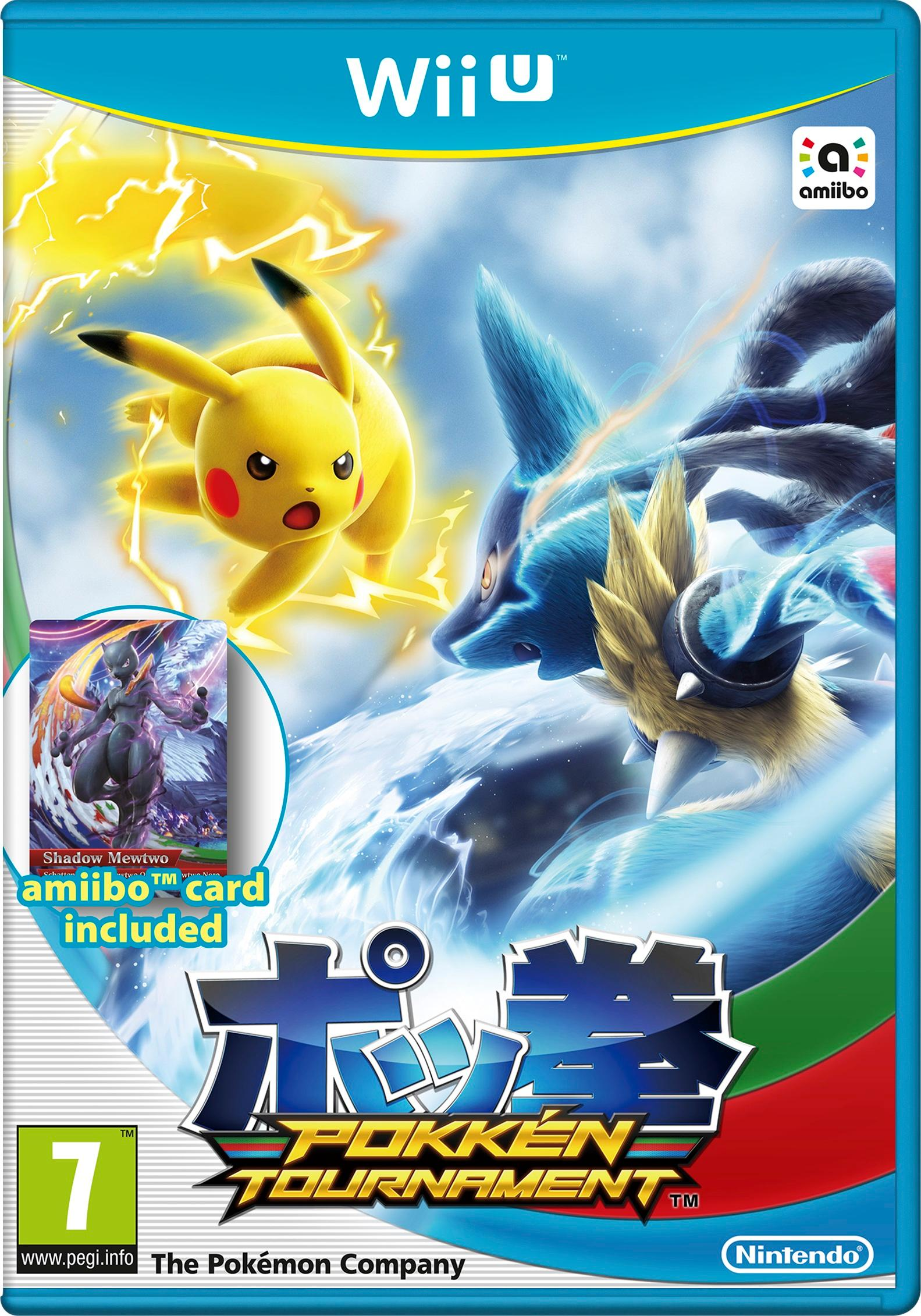 Image result for pokken x wii u box