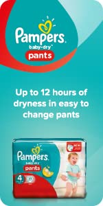 pampers babry dry pants