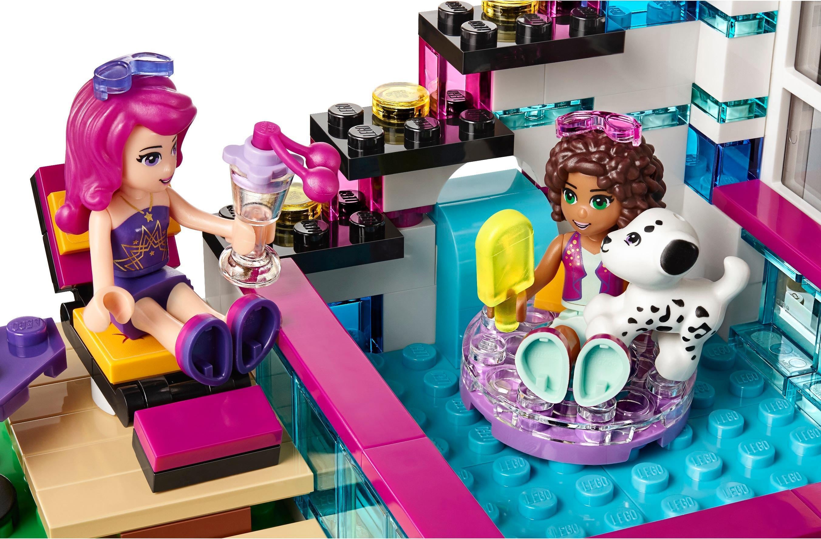 Lego 41135 Friends Livi S Pop Star House Multi Coloured