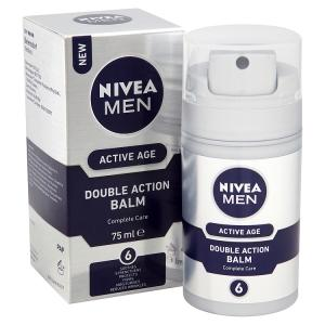 NIVEA for men, mens moisturiser, face cream, aftershave, balm