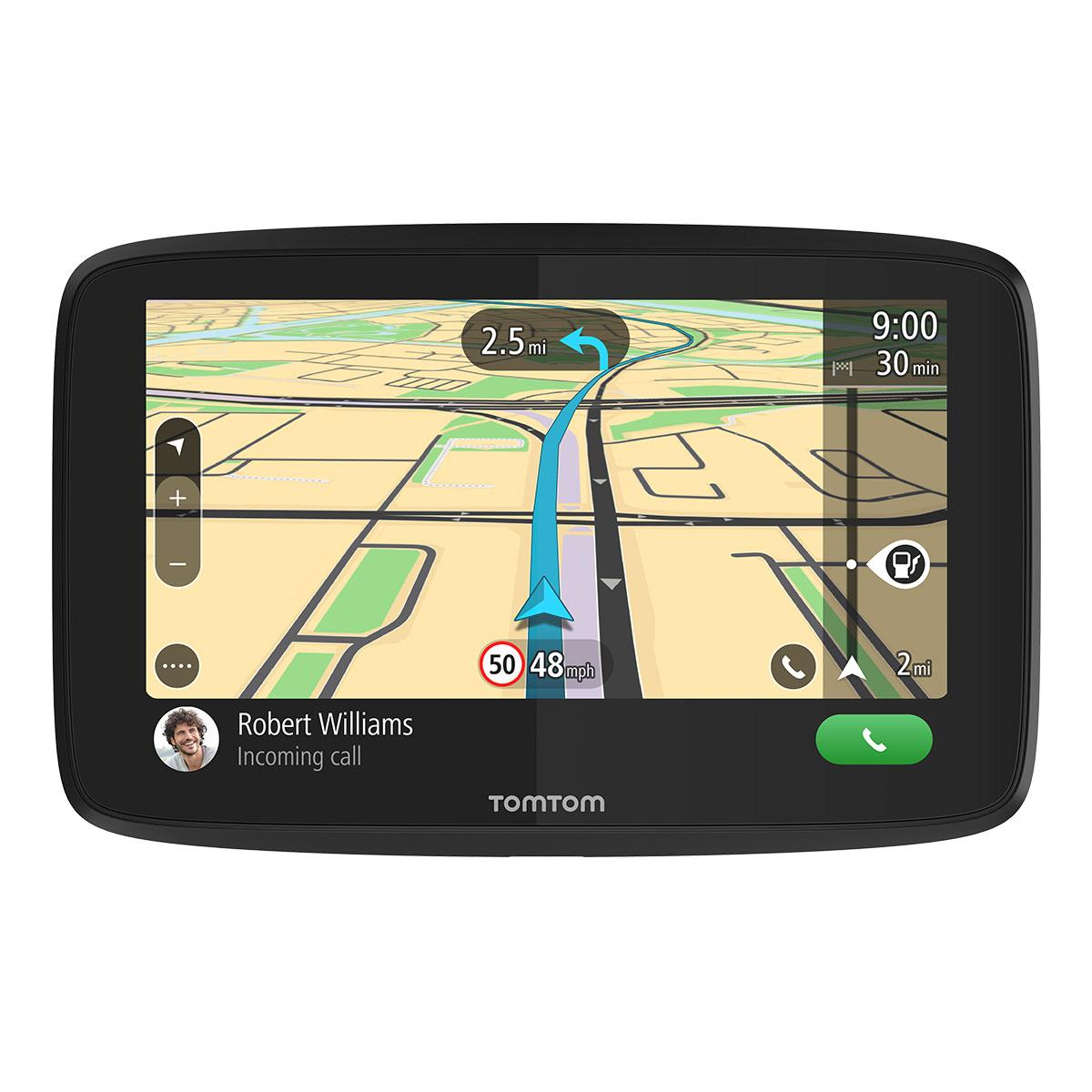 tomtom go 5200 5 sat nav with wi fi lifetime world maps and built in sim ebay. Black Bedroom Furniture Sets. Home Design Ideas