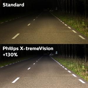 da6e0e21e2e Philips 12342XV+S2 H4 X-Treme Vision +130%, Headlight Car Bulbs ...