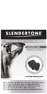 Genuine Slendertone Male Arm Bicep / Tricep toning replacement gel pads