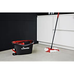 Vileda Easy Wring And Clean Turbo Microfibre Mop And