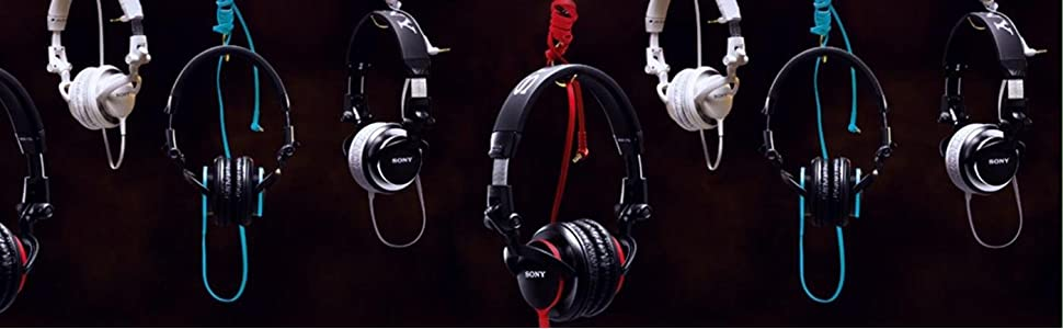 Sony, MDR-V55, DJ stereo headphones