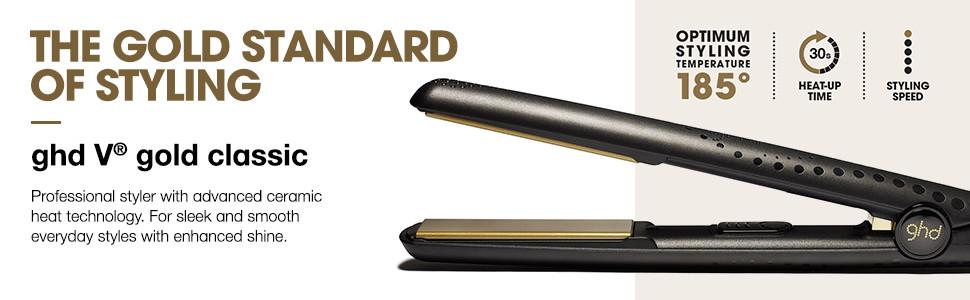 ghd v gold classic styler health personal. Black Bedroom Furniture Sets. Home Design Ideas