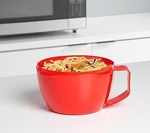 Sistema; microwave cookware; microwave noodle