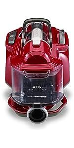 AEG, ASPC7120, SilentPerformer Cyclonic All Floor, Bagless, Cylinder, Vacuum