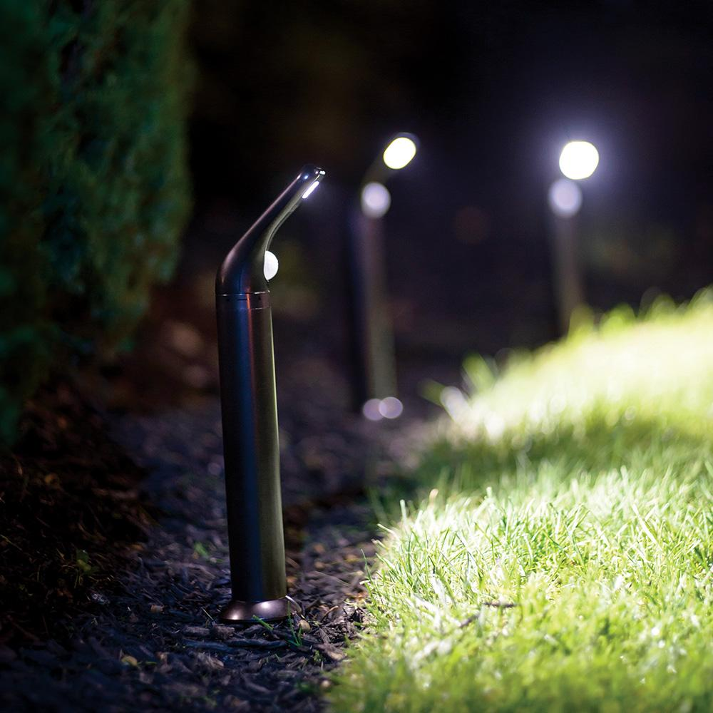 Mr beams mb592 outdoor wireless motion sensing 80 lumen for In ground walkway lights