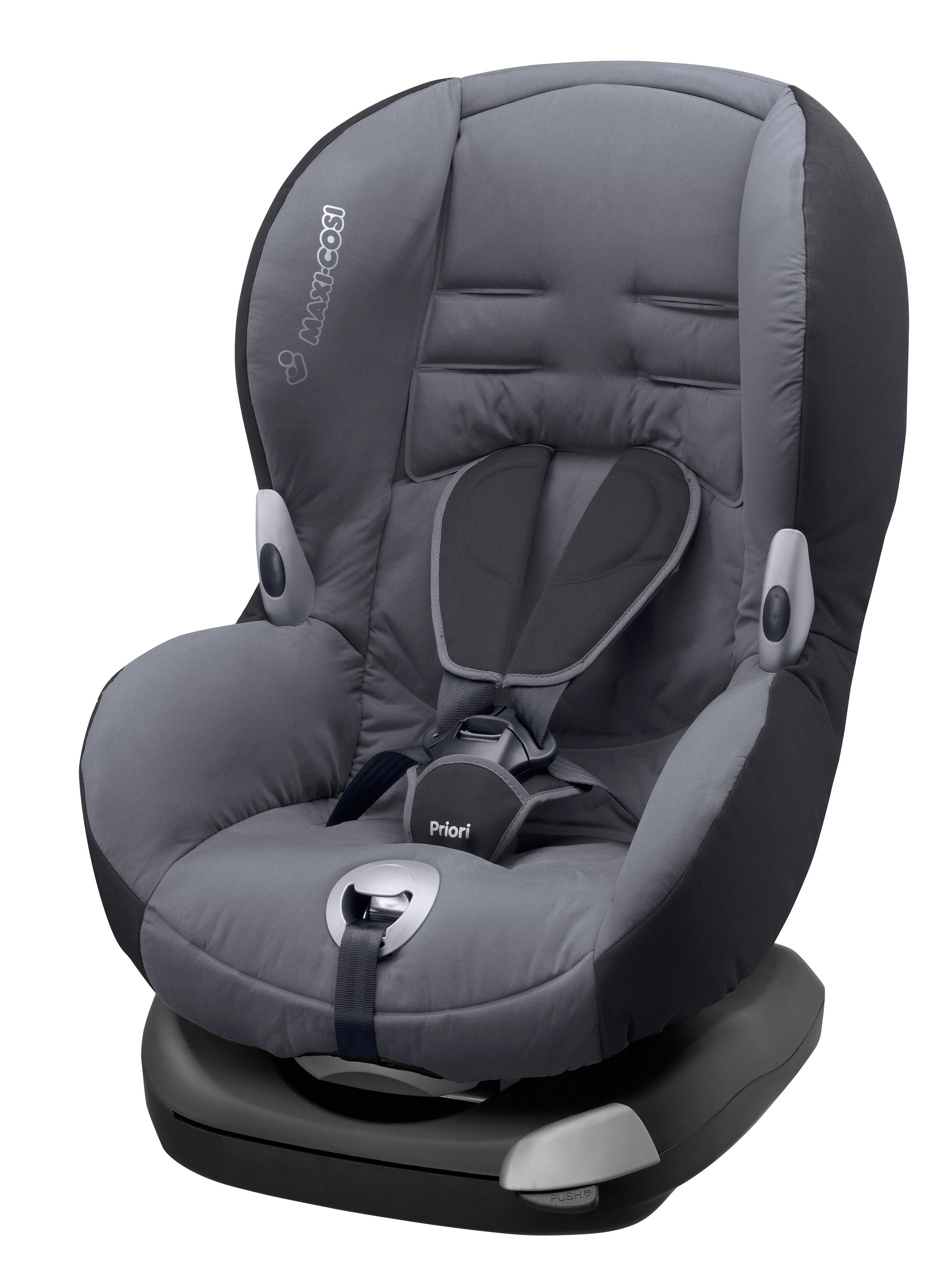maxi cosi priori xp group 1 car seat solid grey 2015. Black Bedroom Furniture Sets. Home Design Ideas