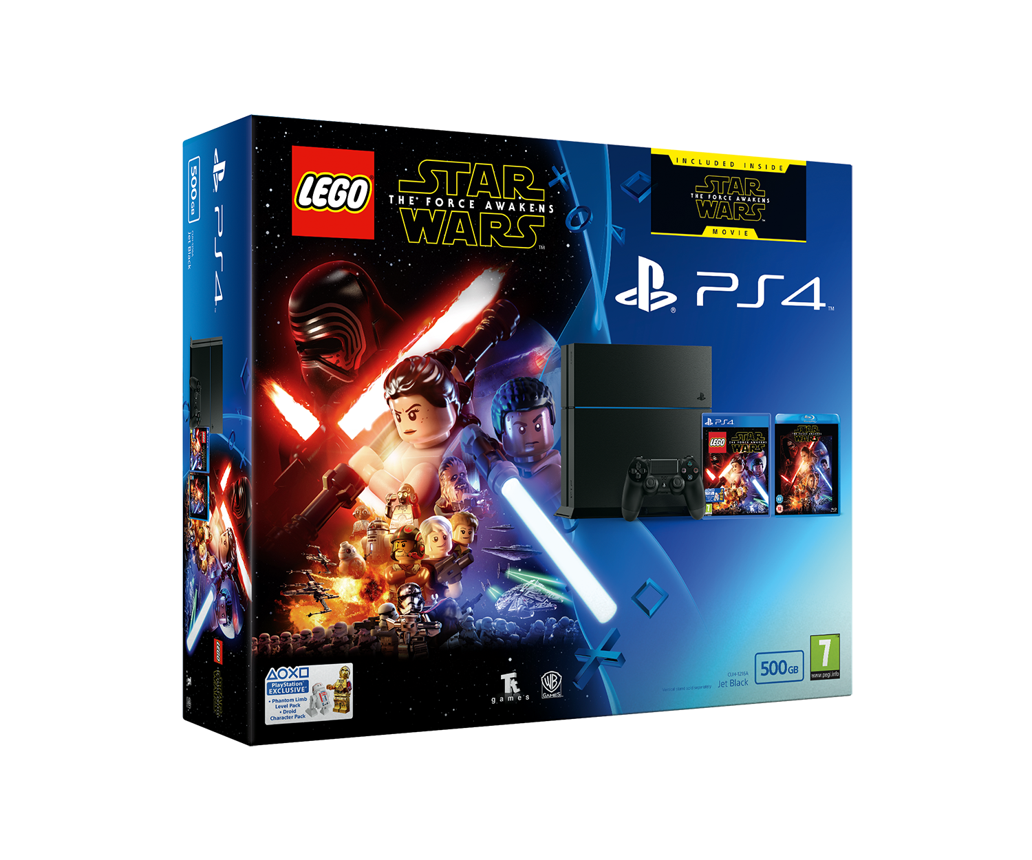 Sony PlayStation 4 500GB Console with LEGO Star Wars: The