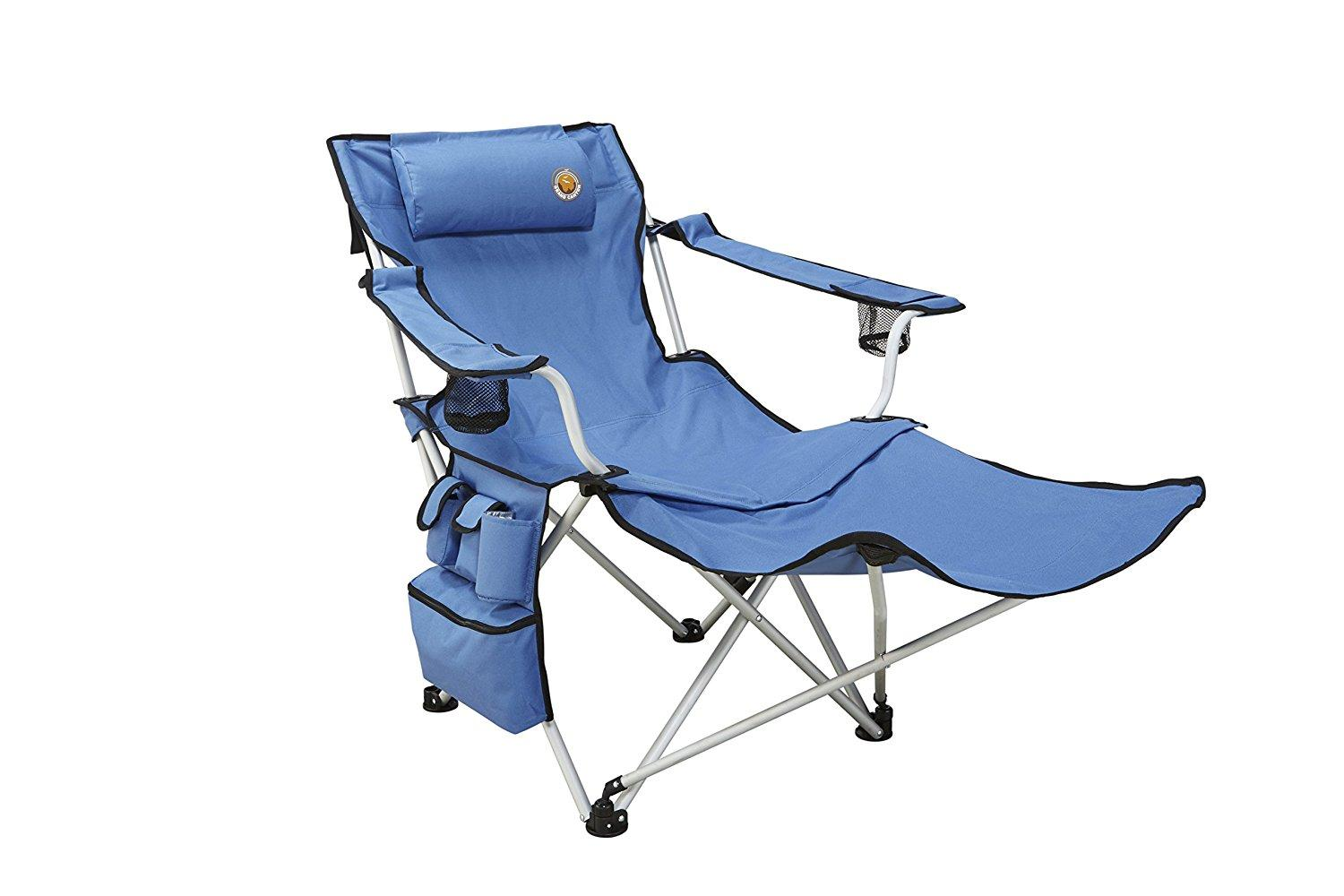 Grand Canyon Giga Folding Camping Chair With Footrest