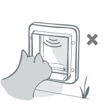 sureflap microchip cat door manual