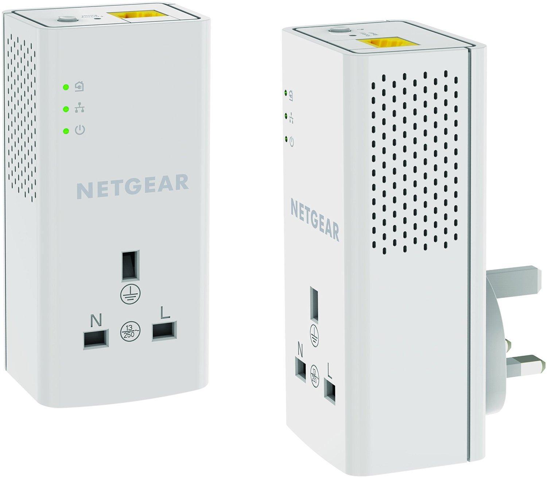 Netgear Plp1200 100uks 1200 Mbps Powerline Ethernet