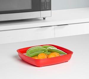 Sistema; Microwave Steamer; microwave plate