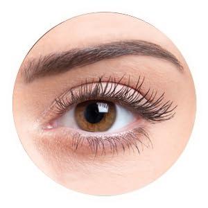 heated eyelash curler results. curled heated eyelash curler results