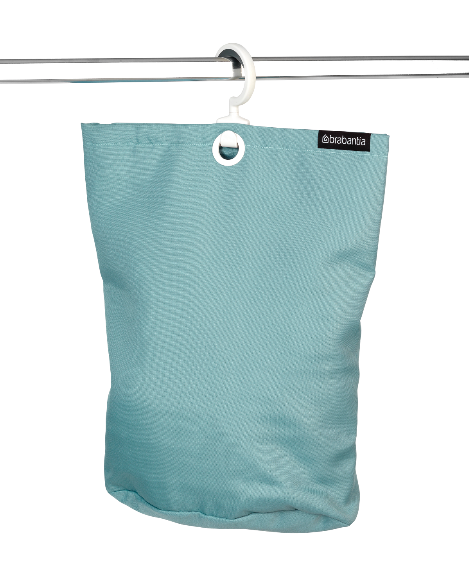 Brabantia Over The Door Hanging Laundry Bag Pastel Mint