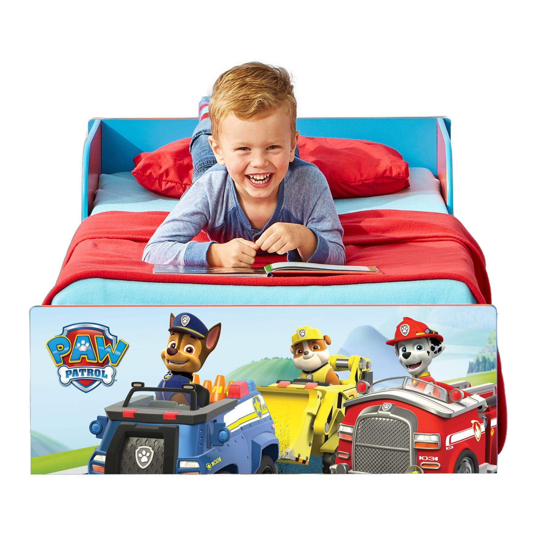 paw patrol toddler bed instructions