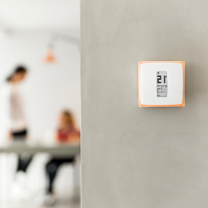 smart thermostat for individual boiler netatmo by starck works with amazon alexa. Black Bedroom Furniture Sets. Home Design Ideas