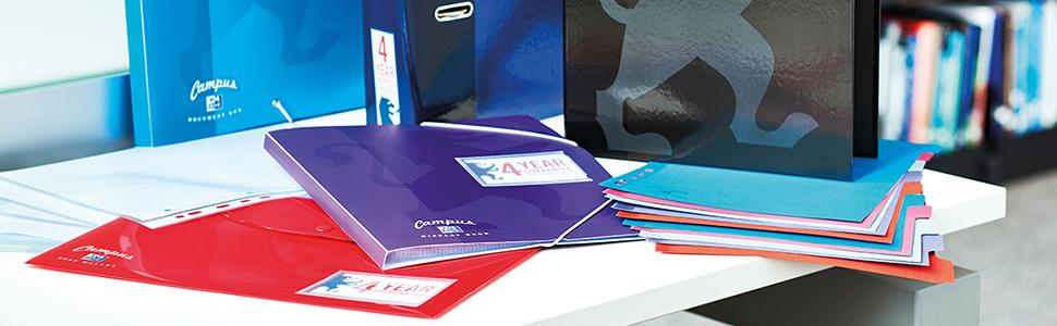 Oxford Campus Filing Range - Choose the perfect filing product to match your Oxford Campus Notebook.