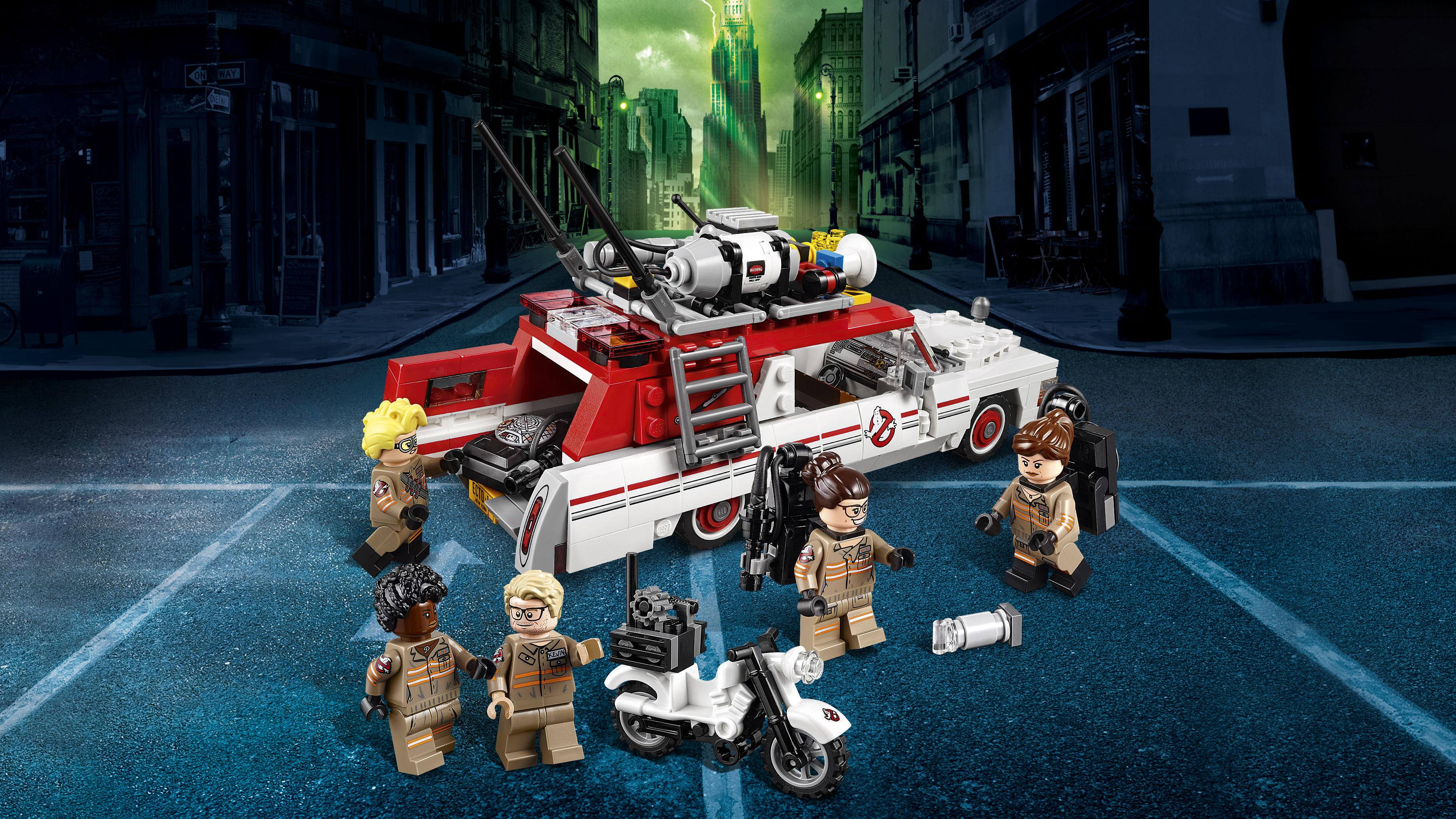 Lego 75828 Ghostbusters Ecto 1 And 2 Building Toy Amazonco Ampamp View Larger