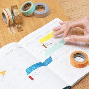 expressions tape; scotch tape; washi tape; office tape; craft tape