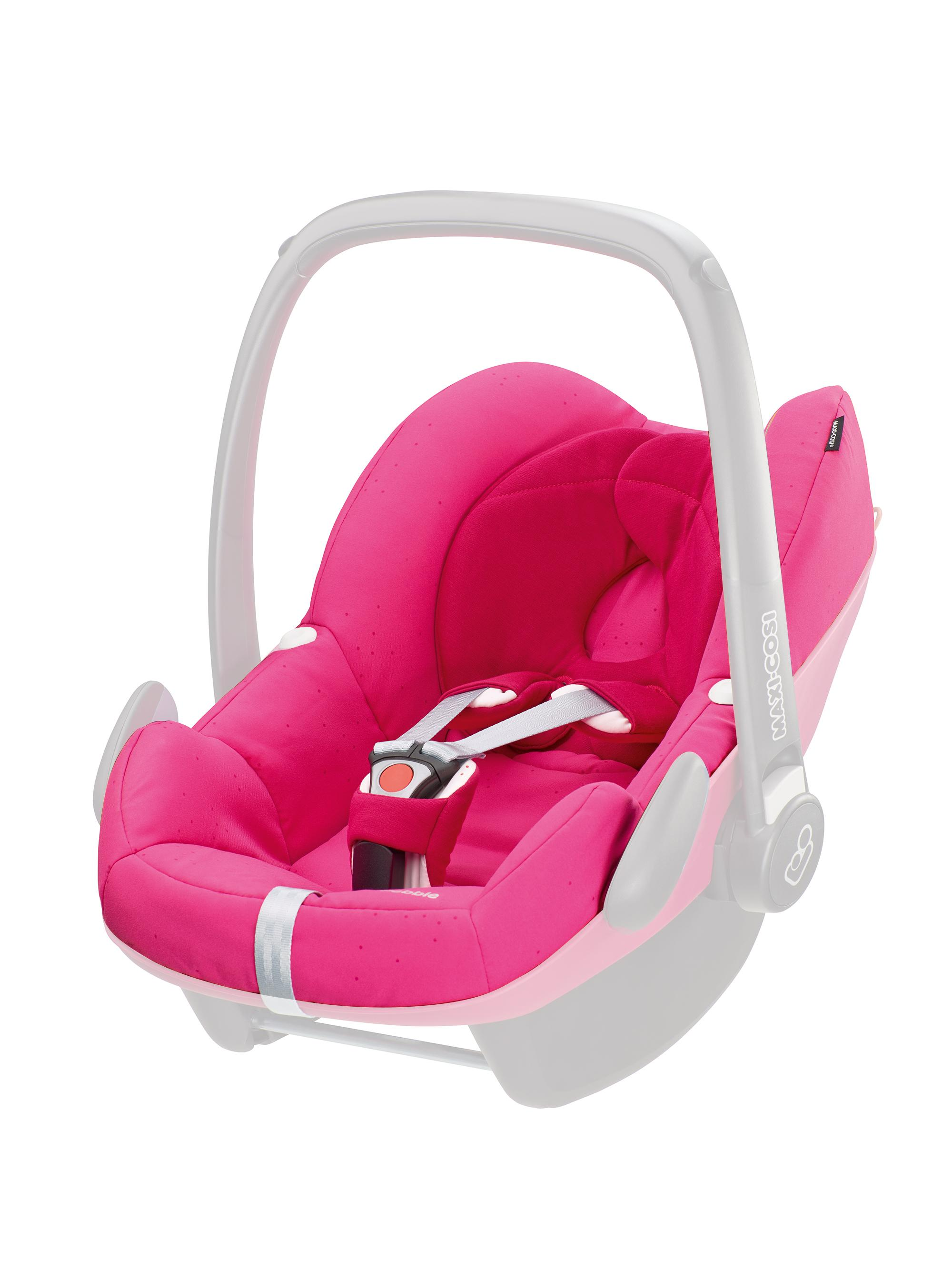 maxi cosi pebble car seat replacement cover berry pink baby. Black Bedroom Furniture Sets. Home Design Ideas