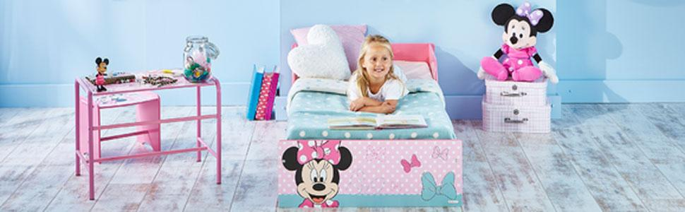 Disney Minnie Mouse Kids Toddler Bed by HelloHome: Amazon ...