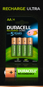Duracell Recharge Ultra AA