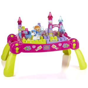 Mega Bloks Lil' Princess - Lil' Princess Play n' Go Fairytale Table