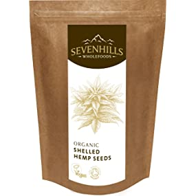 Sevenhills Wholefoods Organic Raw Shelled Hemp Seeds