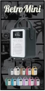stereo, compact, kitchen, alarm clock, radio, DAB, FM, kitchen radio,