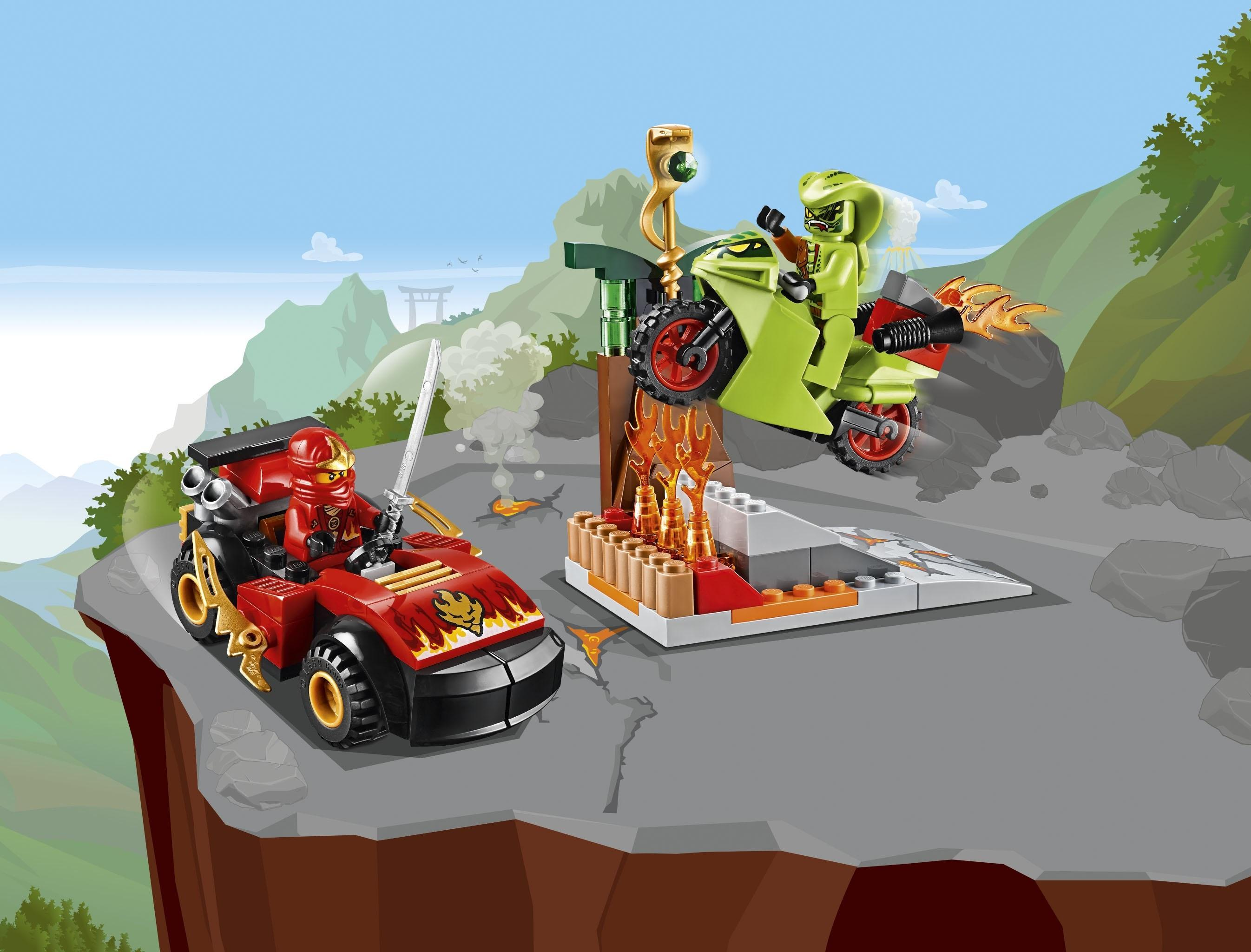 Lego juniors 10722 snake showdown multi coloured lego - Serpent lego ninjago ...