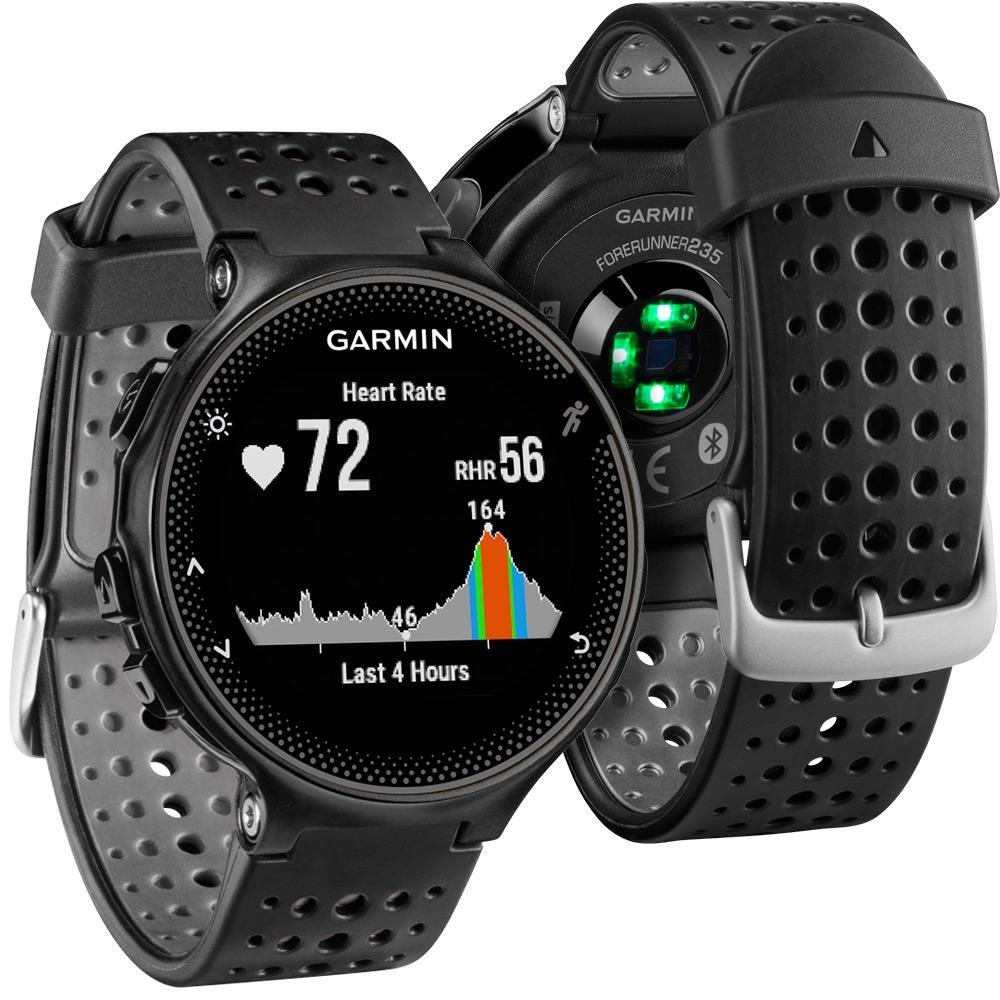 Garmin Forerunner 235 GPS Running Watch with Elevate Wrist ...