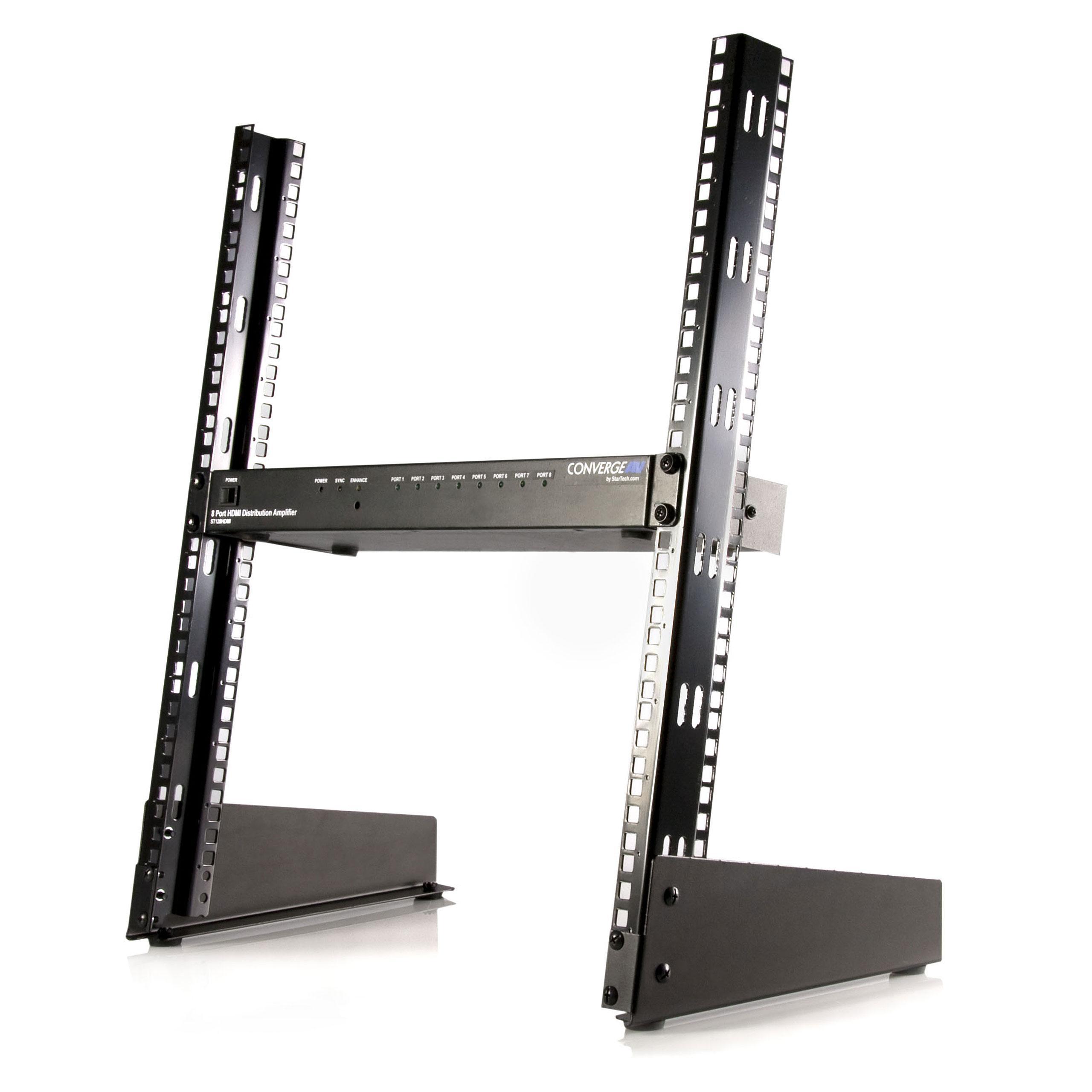 StarTech.com 12 HE 19 inch Desktop 2 Pfosten Open Frame: Amazon.co ...