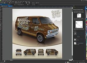 workspace design draw interface icon desktop colour font manager x8 corel illustration image photo