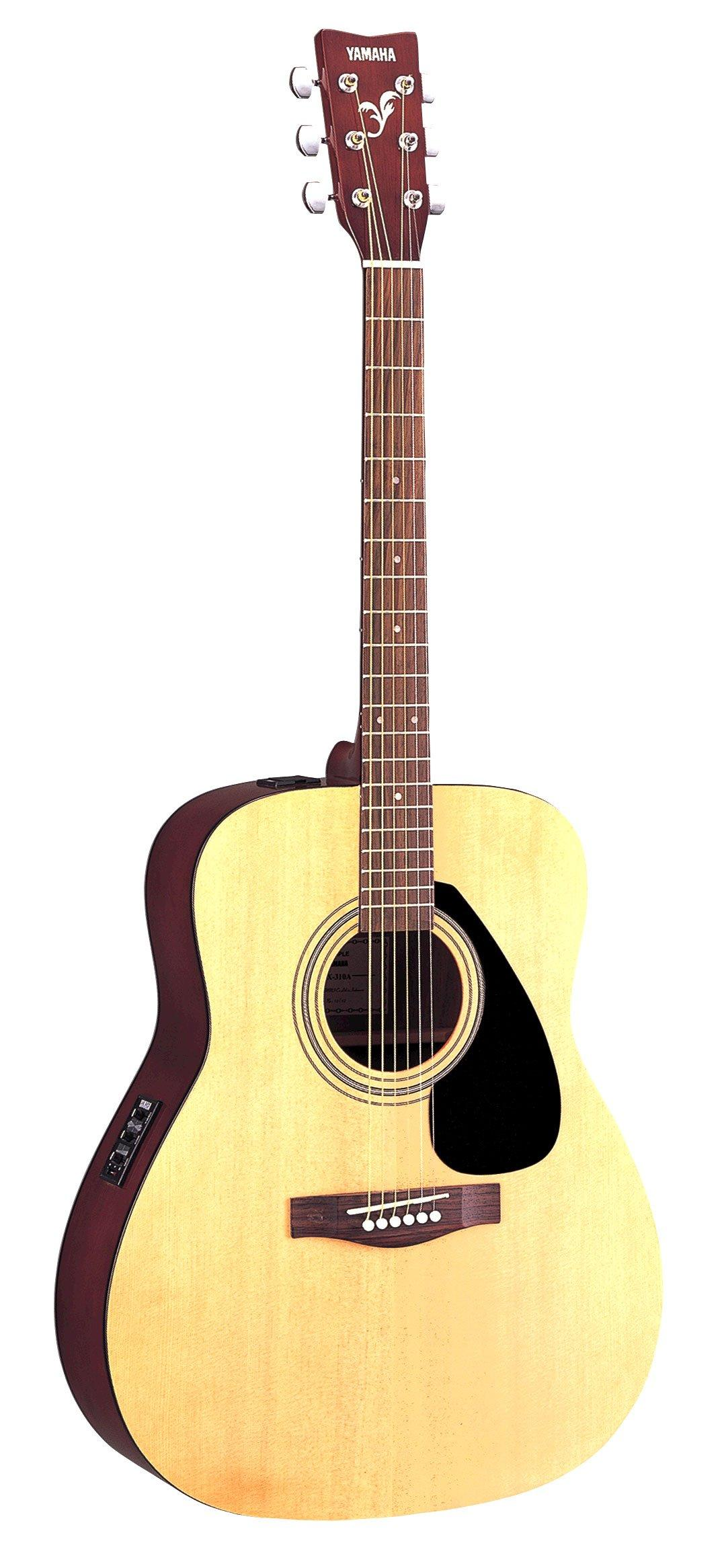 yamaha fx310a full size electro acoustic guitar natural