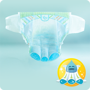 Pampers Premium Protection New Baby Monthly Saving Pack nappies