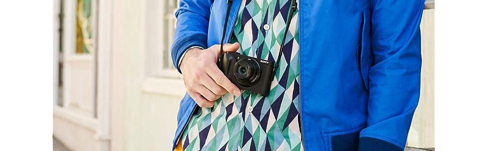 Sony Jacket Case, Cyber-shot HX90, HX90v, WX500, Camera, Camera Accessory
