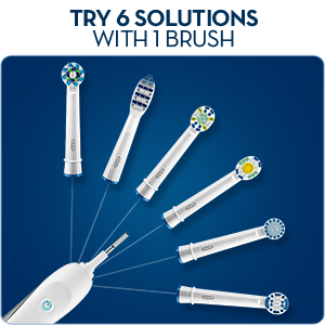 oral b precision clean electric toothbrush heads