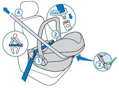Maxi cosi cabriofix car seat youtube.