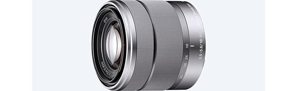 Sony, SEL1855, Alpha NEX Series Lens, 18-55mm, F3.5-5.6 OSS, Camera Lens