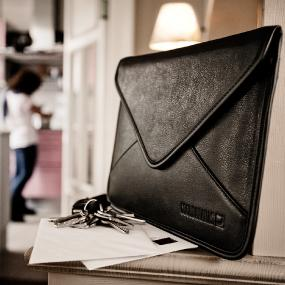 macbook bag, leatherette bag