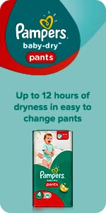 Pampers Baby-Dry Pants nappies