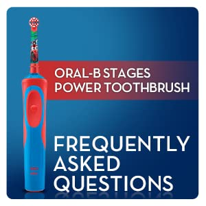 Oral-B Stages Vitality Cars Electric Rechargeable Toothbrush powered by Braun for kids