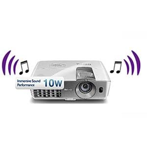 BenQ W1080ST+/DLP 1080p Projector Sound Performance
