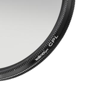 Walimex Pro MC Circular polarizing Filter 72 mm Glass Hardened and Tempered Multiple Times